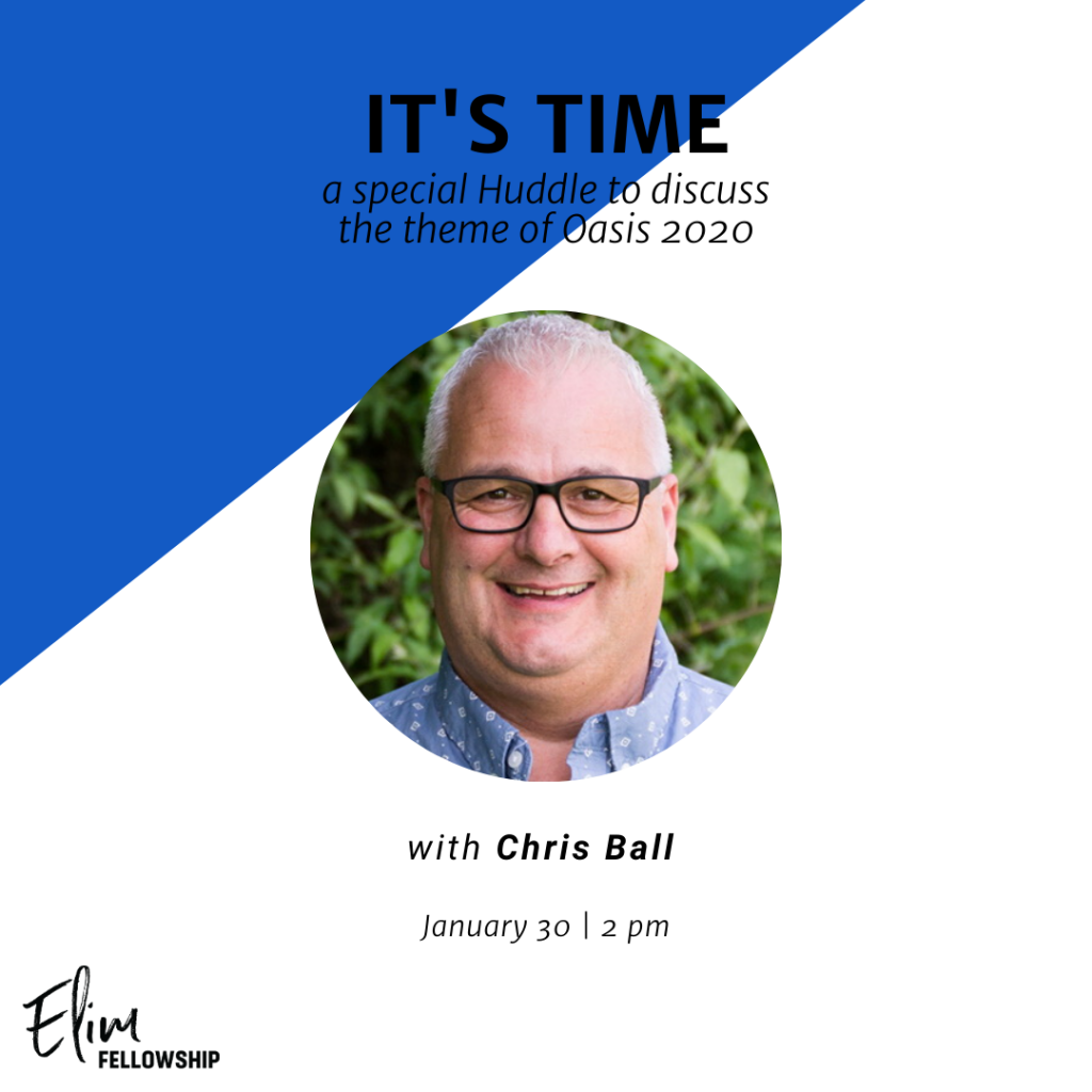 It's Time Huddle with Pastor Chris Ball @ Zoom Conference Call | Lima | New York | United States